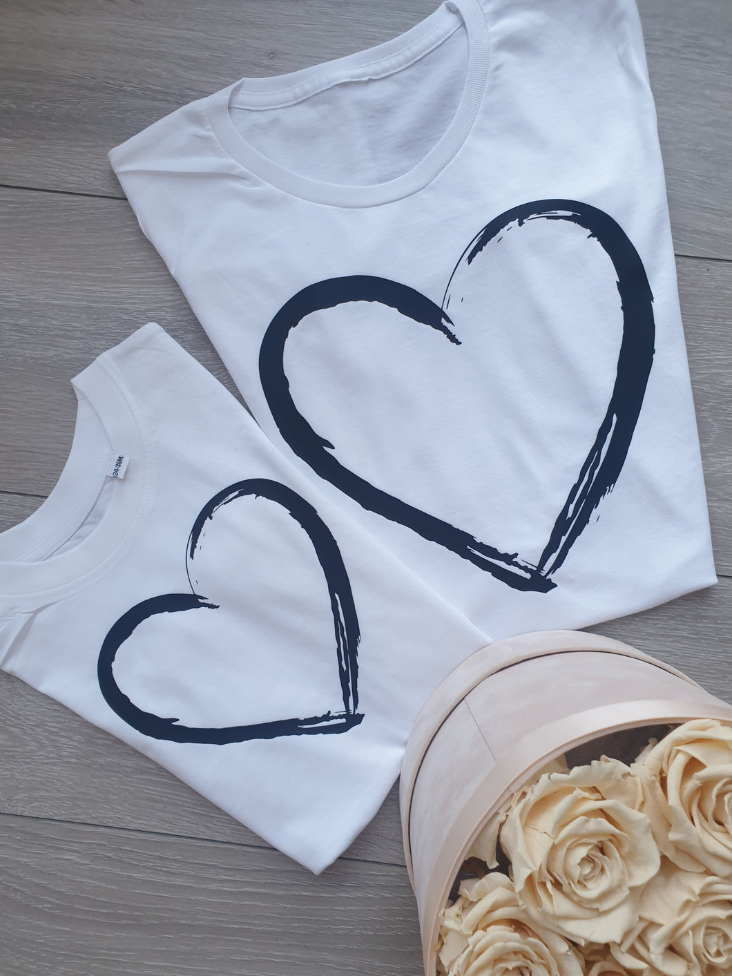 Painted Heart Tee Childs
