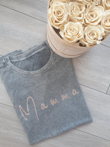 Mama Acid Wash Tshirt