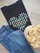 Load image into Gallery viewer, Dotted Heart Women's T-shirts