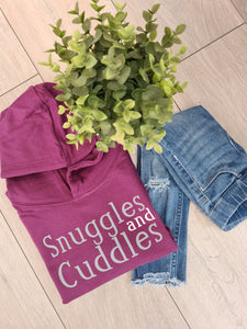 Snuggles and Cuddles Adults hoodie