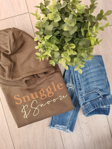 Snuggle and Snooze Adults hoodie