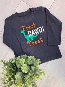 trick rawr treat top Child's