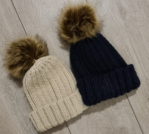 Bobble Hat adults and childs