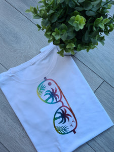 Tropical Sunglasses Childs Tee