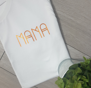 Mama shape Unisex pocket Tee