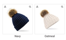 Load image into Gallery viewer, Bobble Hat adults and childs