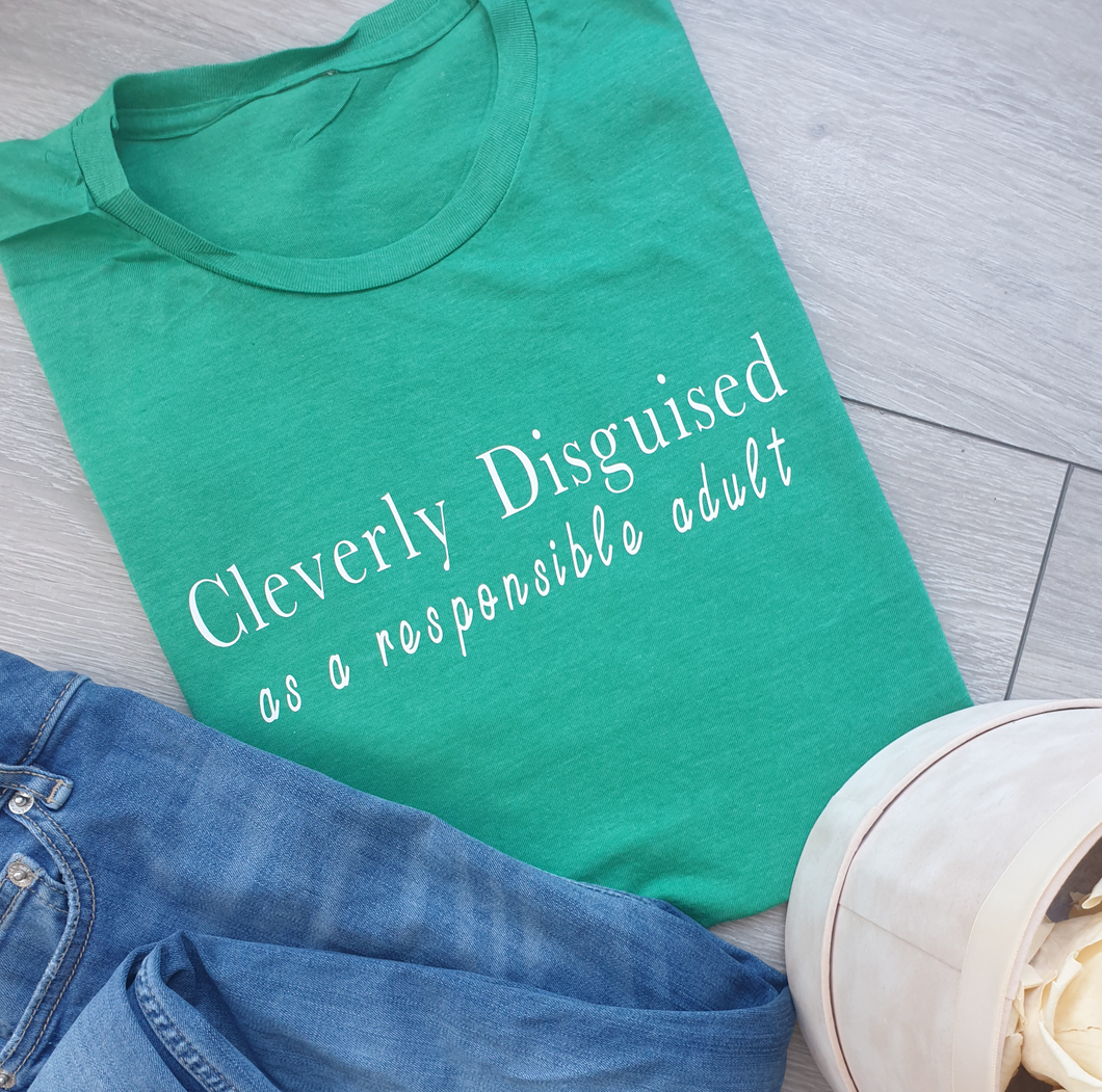 Cleverly Disguised  Women's T-shirt