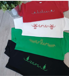 Christmas Name Tee Adults Unisex Tee
