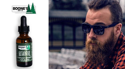 Kentucky Whiskey Beard Oil