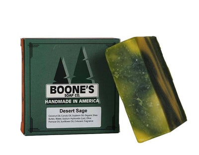 Desert Sage - Boone's Soap Co. - boonessoap.com - Mens Soap with Natural ..., Best Soaps for Men 2020, Soap for Men with Natural Scent, Handmade Men's Soap, Natural Exfoliating Soap, Soap Handmade in  USA, Natural Soap for Men