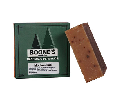 Mochaccino - Boone's Soap Co. - boonessoap.com - Mens Soap with Natural ..., Best Soaps for Men 2020, Soap for Men with Natural Scent, Handmade Men's Soap, Natural Exfoliating Soap, Soap Handmade in  USA, Natural Soap for Men