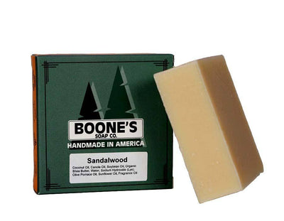 Sandalwood - Boone's Soap Co. - boonessoap.com - Mens Soap with Natural ..., Best Soaps for Men 2020, Soap for Men with Natural Scent, Handmade Men's Soap, Natural Exfoliating Soap, Soap Handmade in  USA, Natural Soap for Men