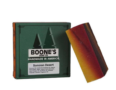 Sonoran Desert - Boone's Soap Co. - boonessoap.com - Mens Soap with Natural ..., Best Soaps for Men 2020, Soap for Men with Natural Scent, Handmade Men's Soap, Natural Exfoliating Soap, Soap Handmade in  USA, Natural Soap for Men