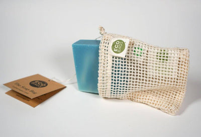 Natural Soap For Men | Men's Soap | Drawstring Natural Soap Bag | Boone's Soap Co. | Natural soap for men who want to feel and smell like a man. | Certified Organic Cotton Soap Bag