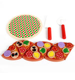 Wooden Pizza Toys
