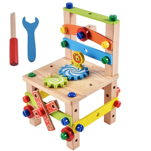 Montessori Wooden Assembly Chair