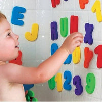 36pcs Alphanumeric Letter Puzzle bath toy