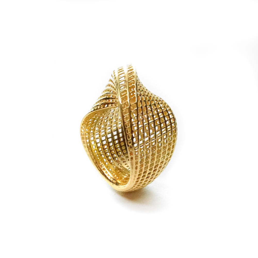 14K - Mobius #1 Statement Modern Ring