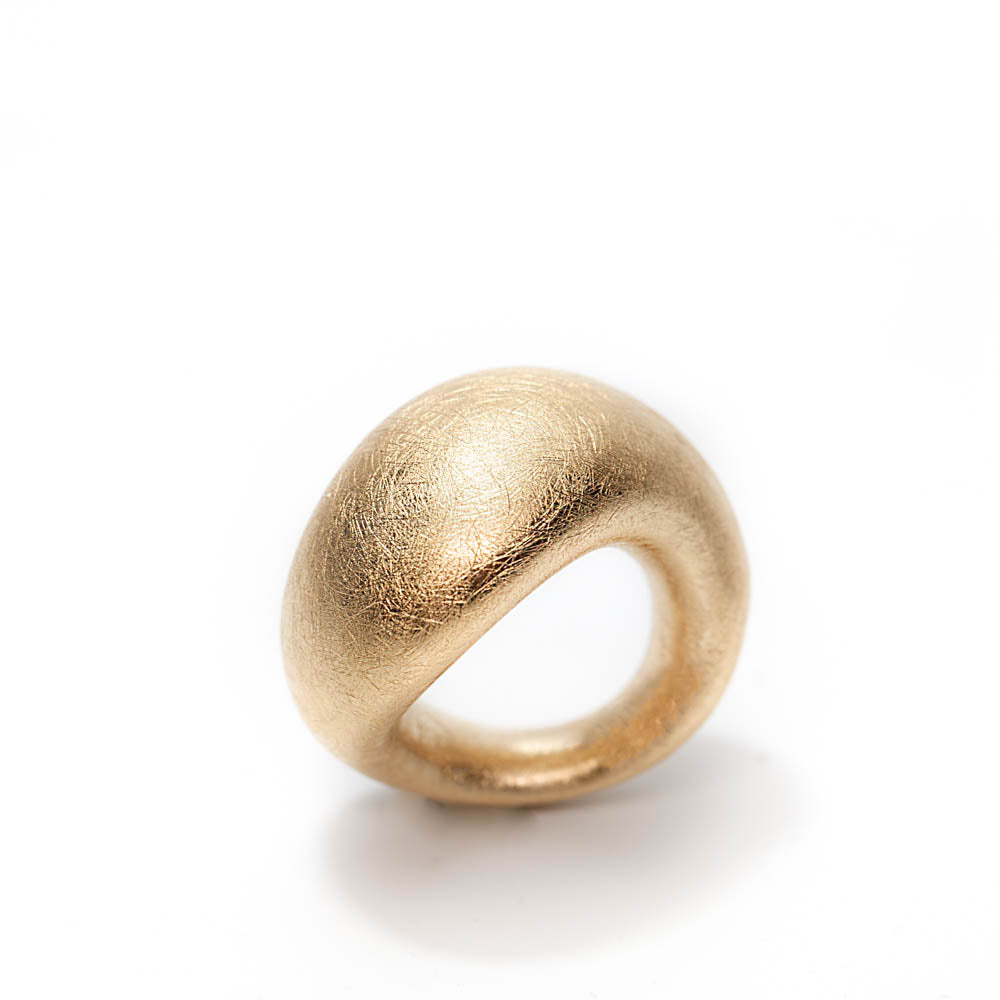 18K Pinkie Contemporary Ring