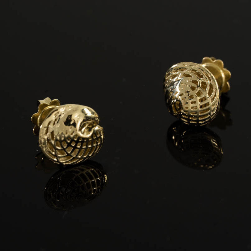14K - Small Egyptian Earrings