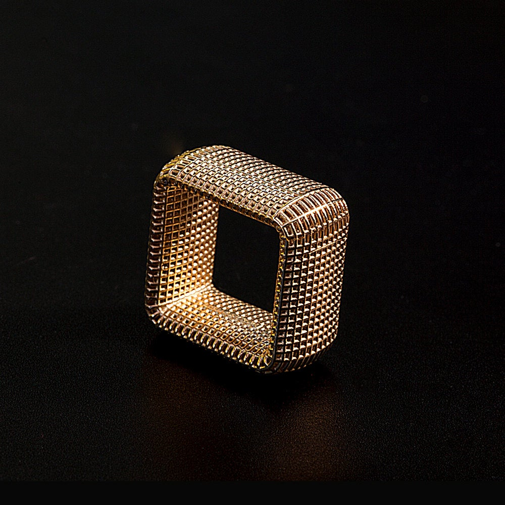 14K - Square NET  Ring