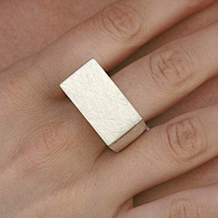 Sterling Silver Statement Ring