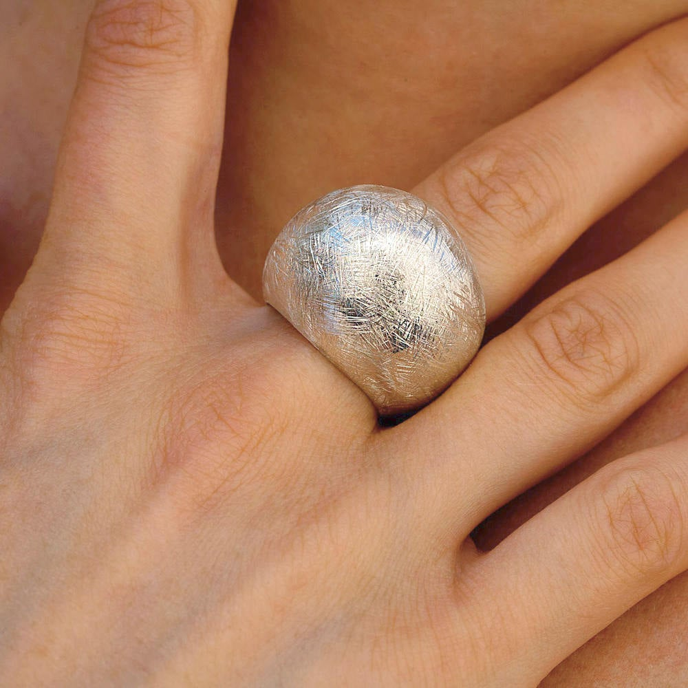 Sterling Silver Modern Statement Ring
