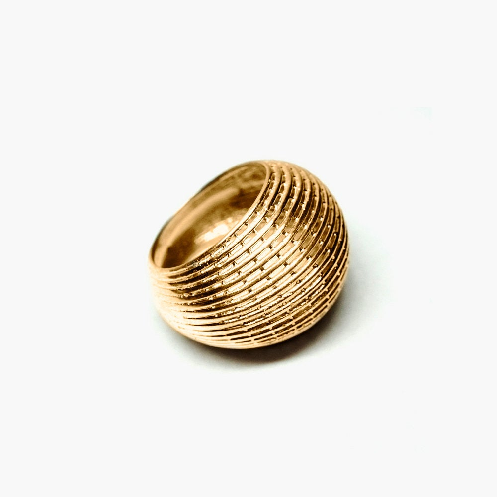 14k Bombe Cocktail Ring