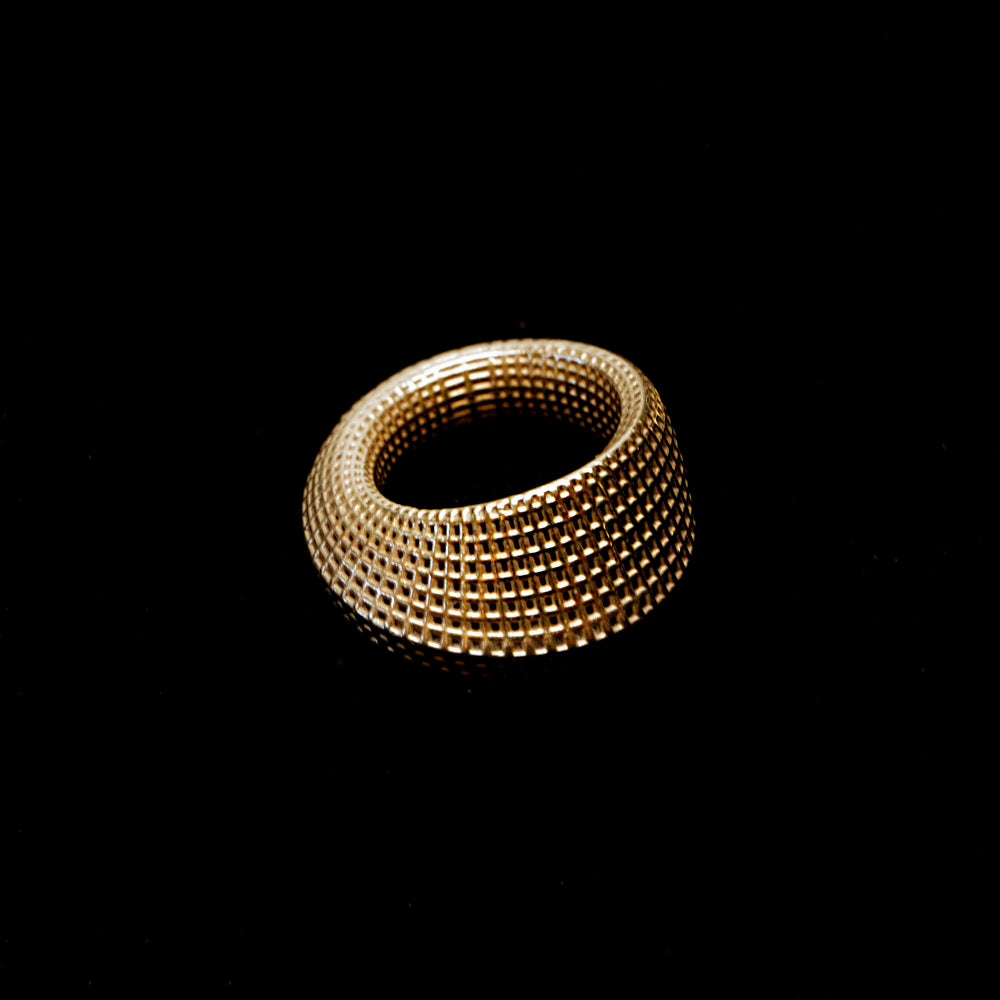 14K Gold Mobius #2 Ring