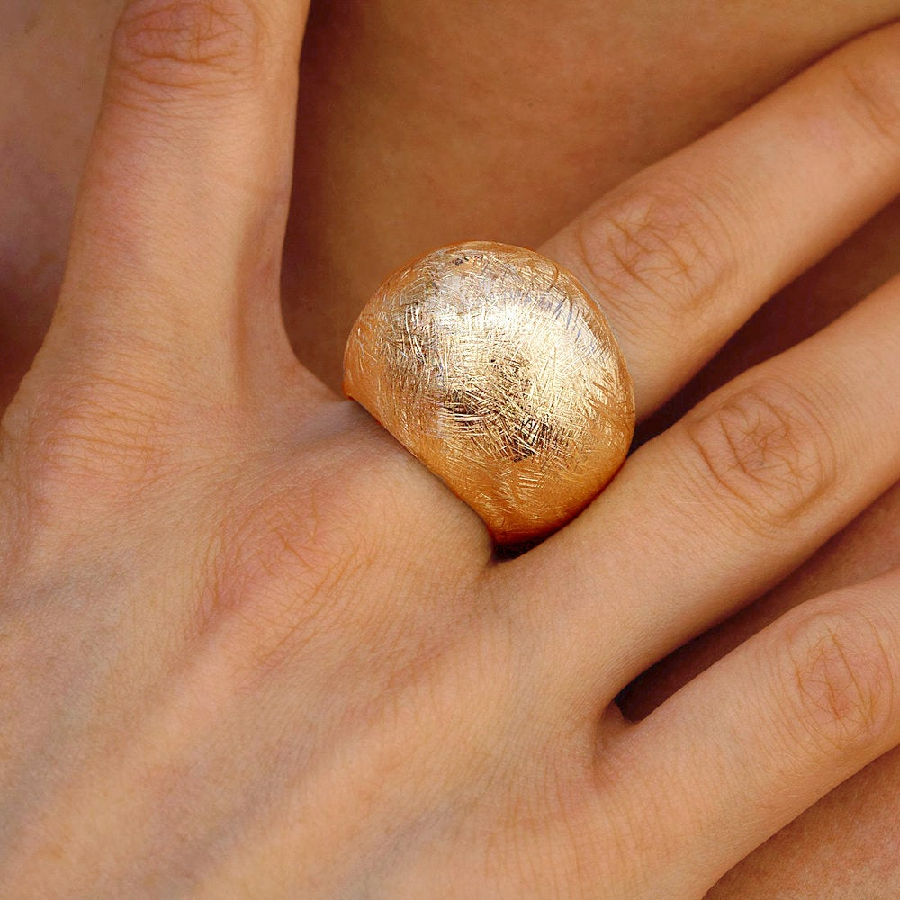 18K - Dome Ring