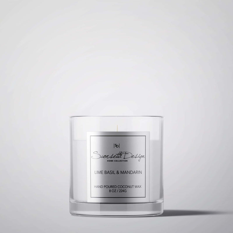 LIME BASIL & MANDARIN | CANDLES