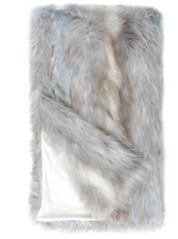 LIMITED EDITION SIBERIAN FOX FAUX | FUR THROWS