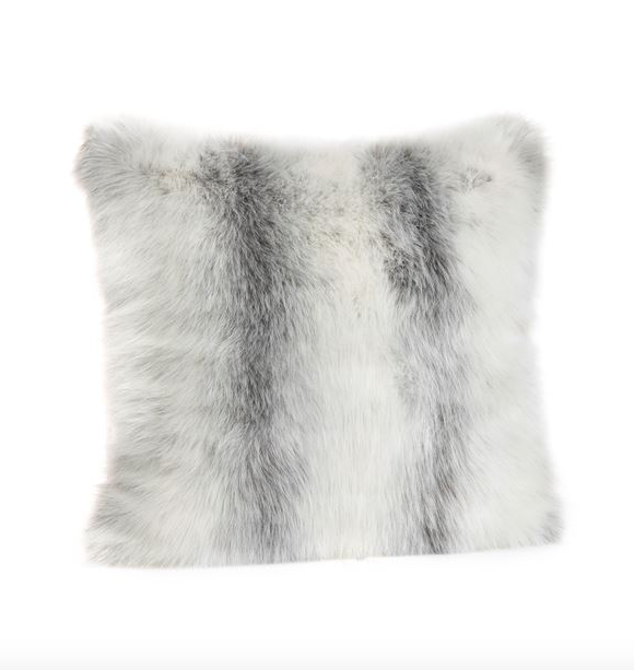 LIMITED EDITION ICELANDIC FOX  | FAUX FUR PILLOWS.