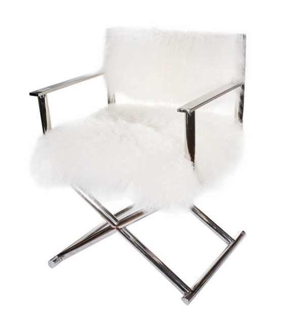 MONGOLIAN FUR DIRECTOR |  CHAIR