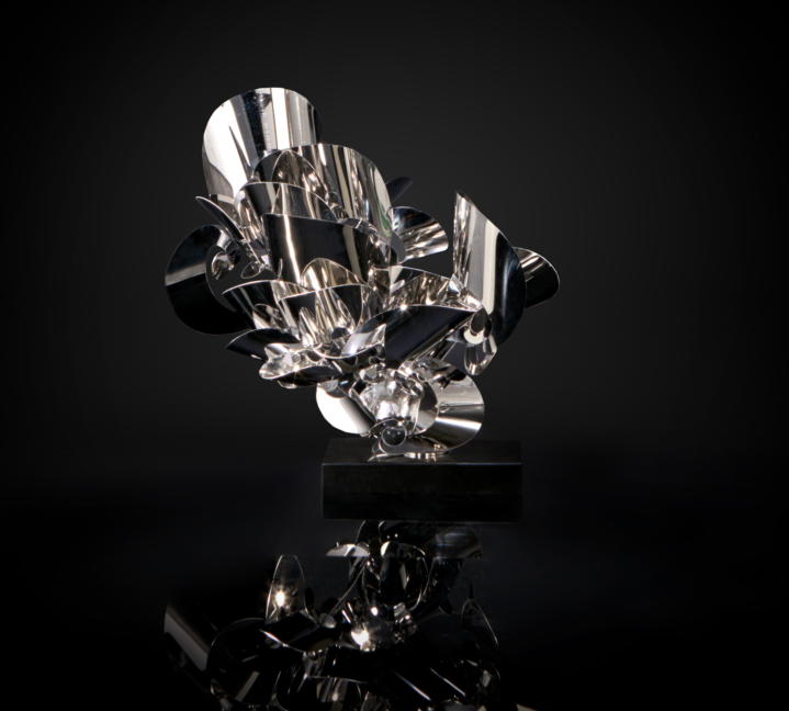 BLOOMING SILVER  |  SCULPTURE