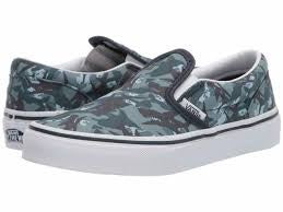 Vans Y Slip On(Anml Camo)Parisian Night