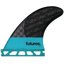Futures Fins F4 Blackstix Tri Size Small