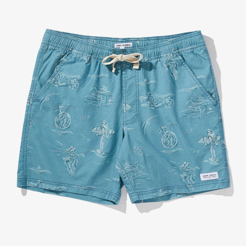 Banks Journal Seaside Boardshort