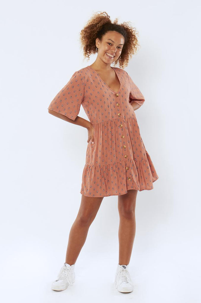 Sisstr Rosy Sky Dress-DPM