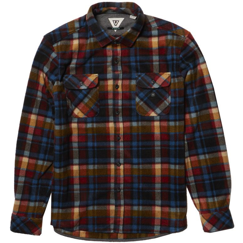 Vissla Eco Zy Boys LS Polar Flannel