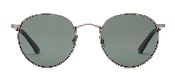 Otis Sunglasses Flint Brushed Sand Frame Grey Polar Lens