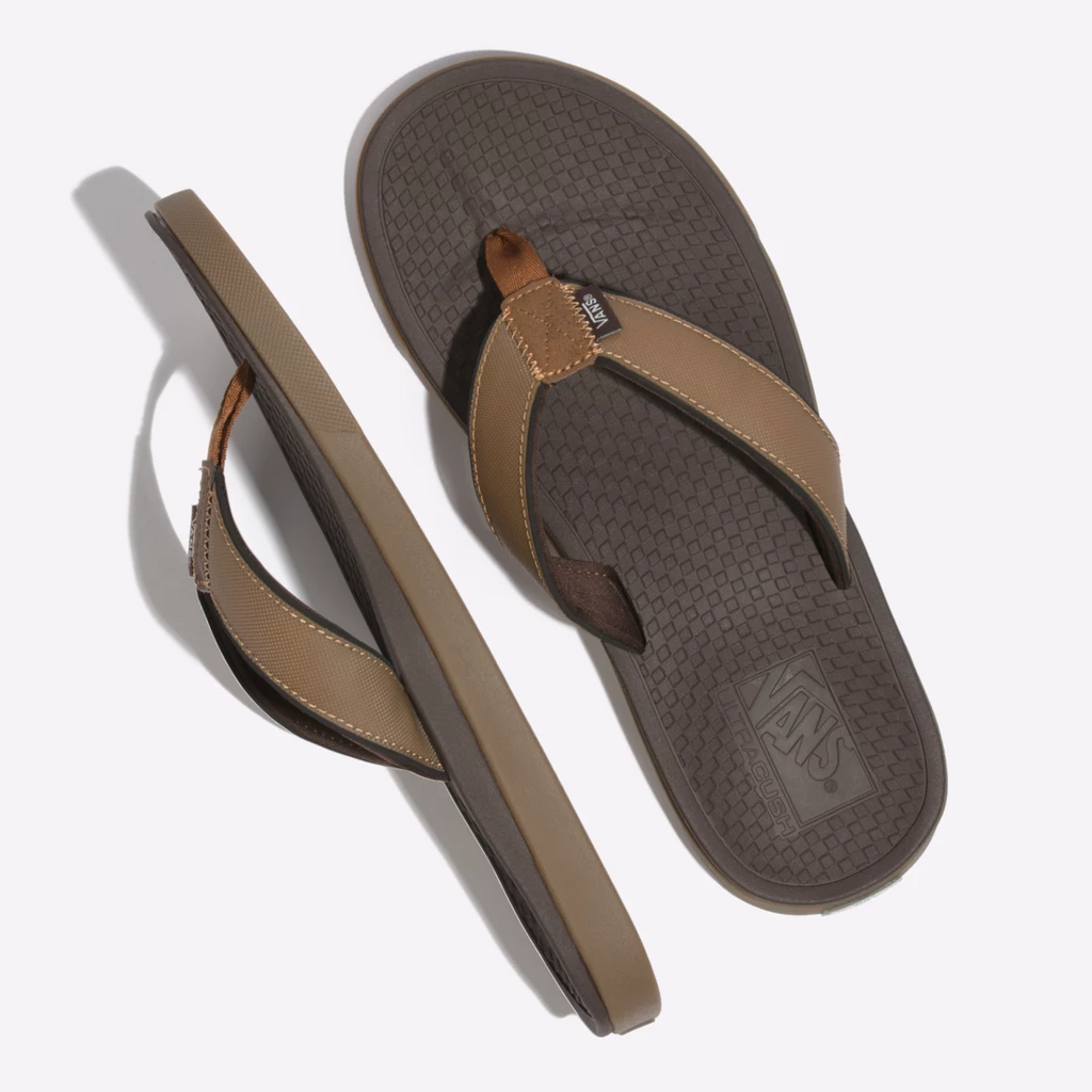 Vans Ultracush Sea Esta Tan Mens Flip Flops