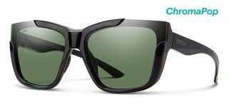 Smith Optics Dreamline Black Chroma Pop Polarized Gray Green