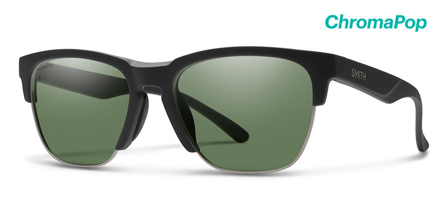Smith Optics Haywire Matte Black Chroma Pop Polarized Gray Green