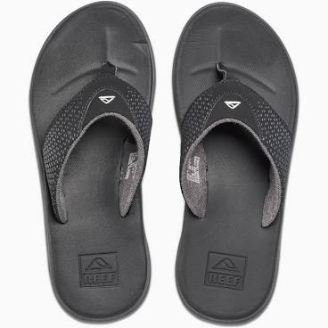 Reef Rover Black Mens Flip Flops