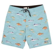 Salty Crew Fish Stamps Boardshort