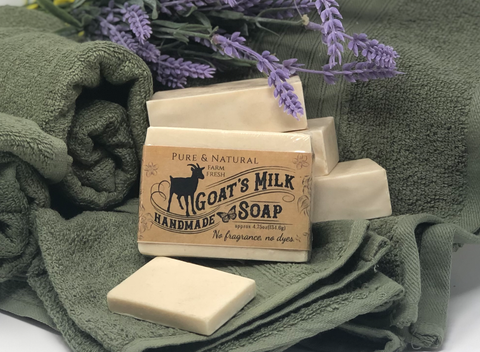 Fragrance Free Pure & Natural Goat Milk Soap