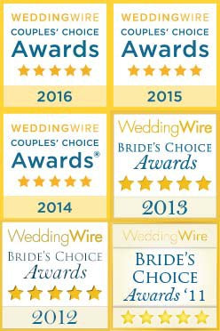 Wedding Wire Bride's Choice Award Winning Florist