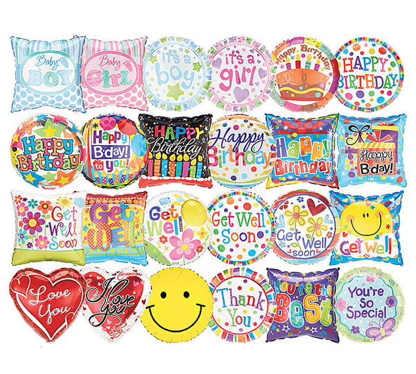Mylar Balloon (Choose Your Own Message/Style)
