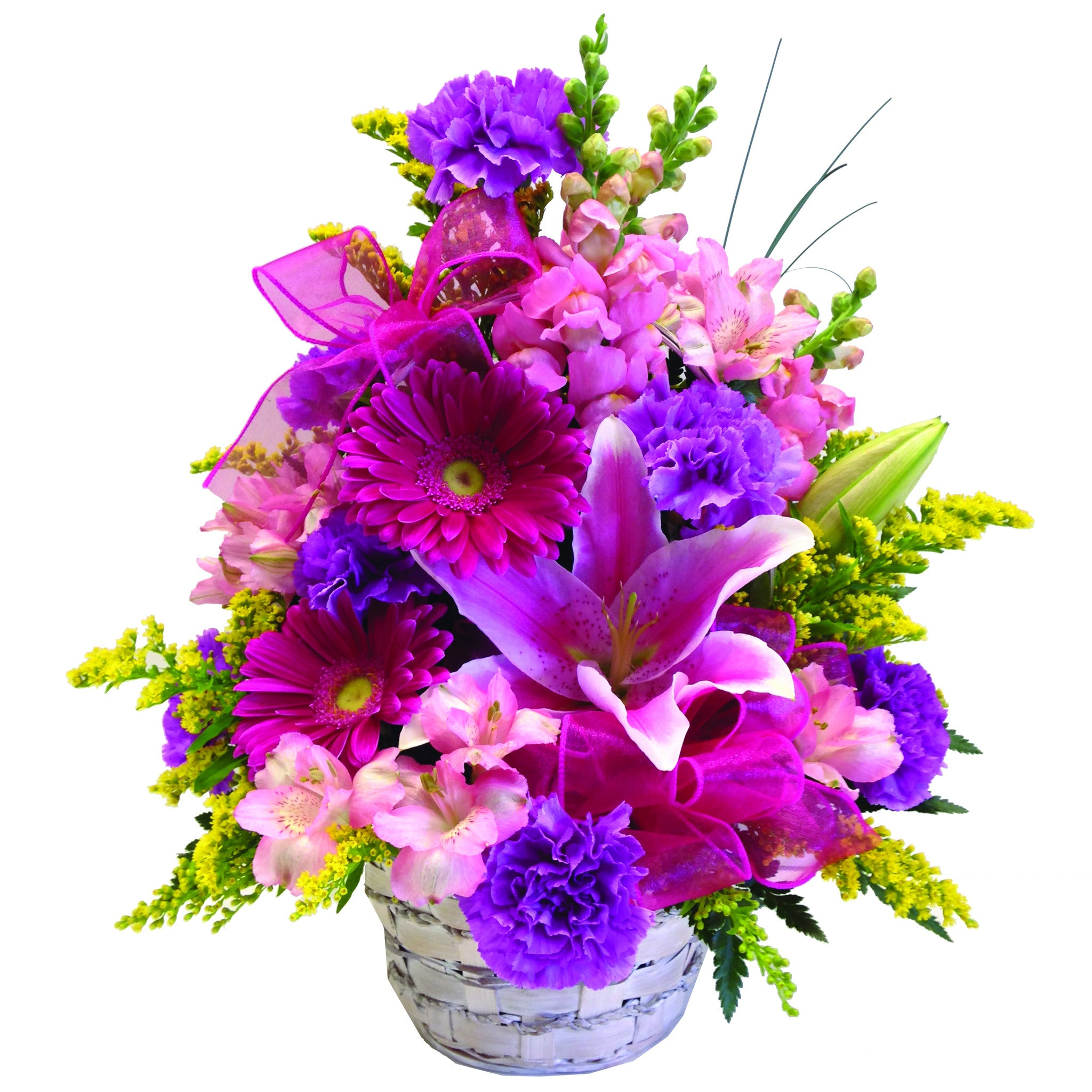 Spring Basket By Lipinoga Florist Clarence Ny